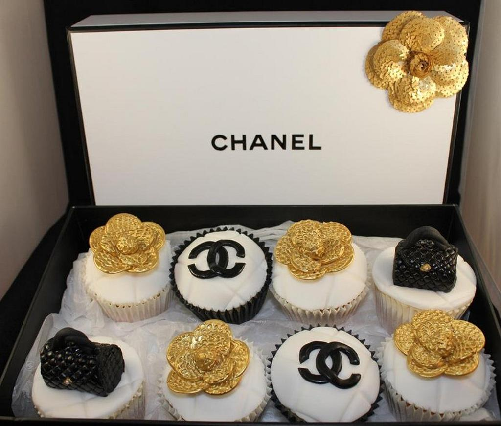 Chanel Cupcakes by V.S Cakes