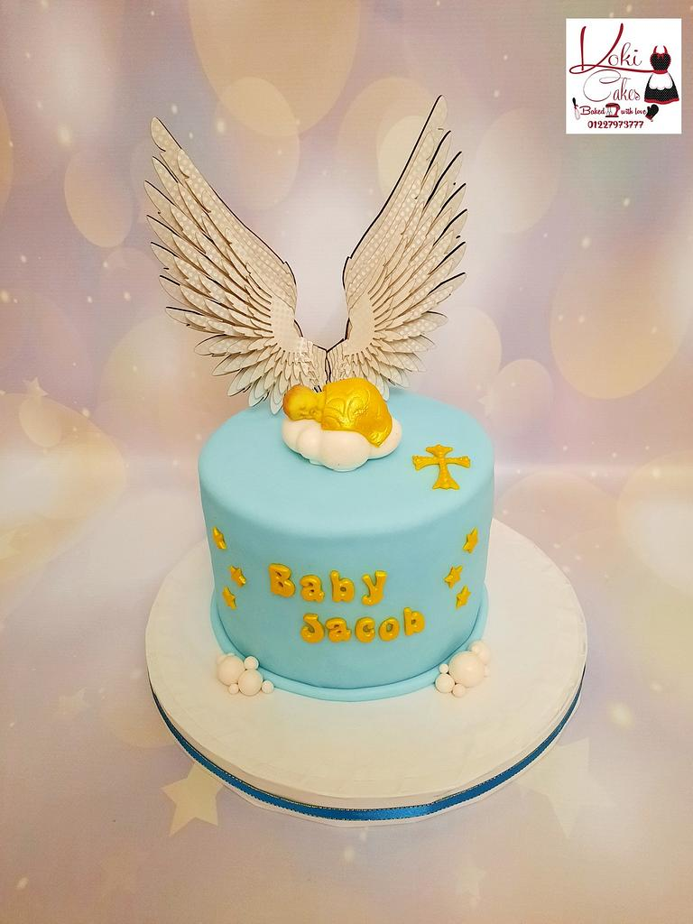 """Baby Shower cake"" by Noha Sami"