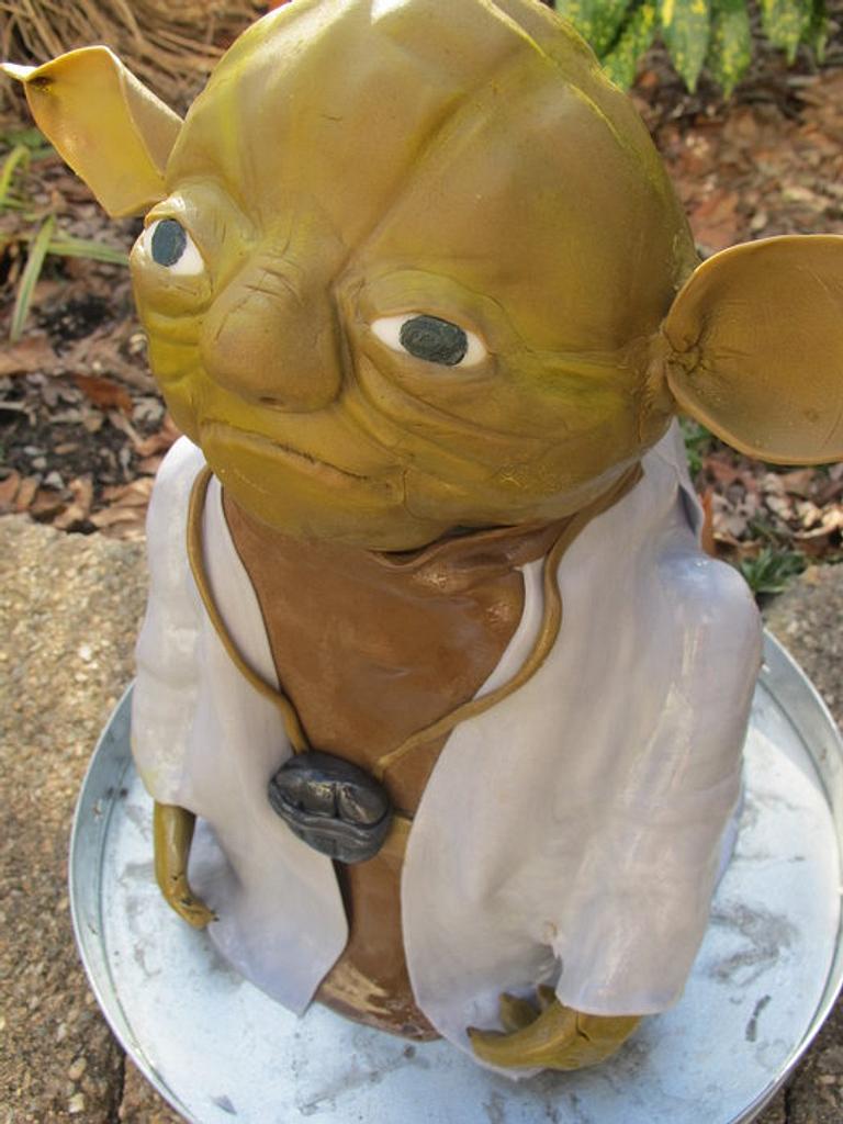 Yoda by Elyse Rosati