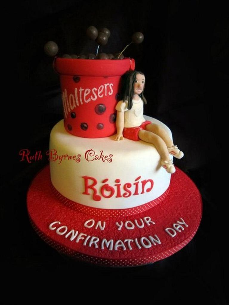 Maltesers Cake for Róisín by Ruth Byrnes