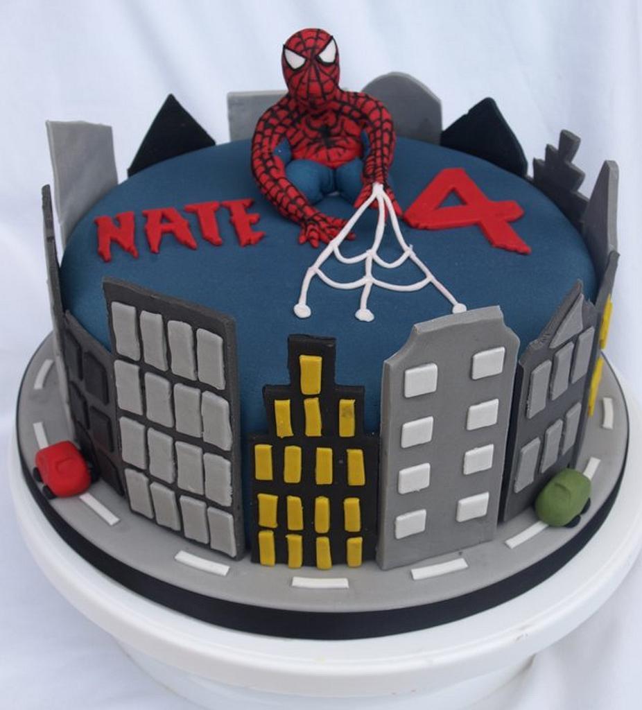 Spiderman Cake  by Kaylee