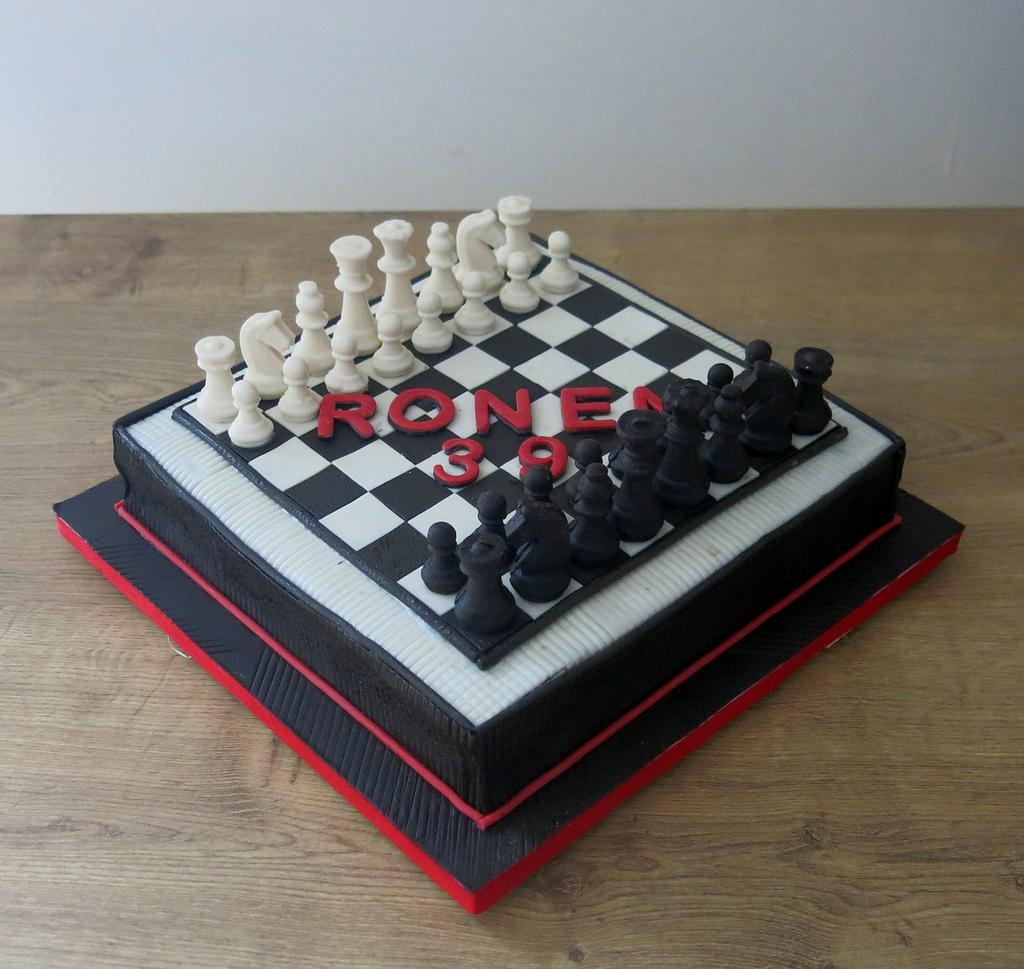Chess! by The Garden Baker
