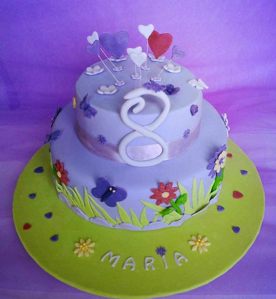 Maria turned 8 ! by miettes
