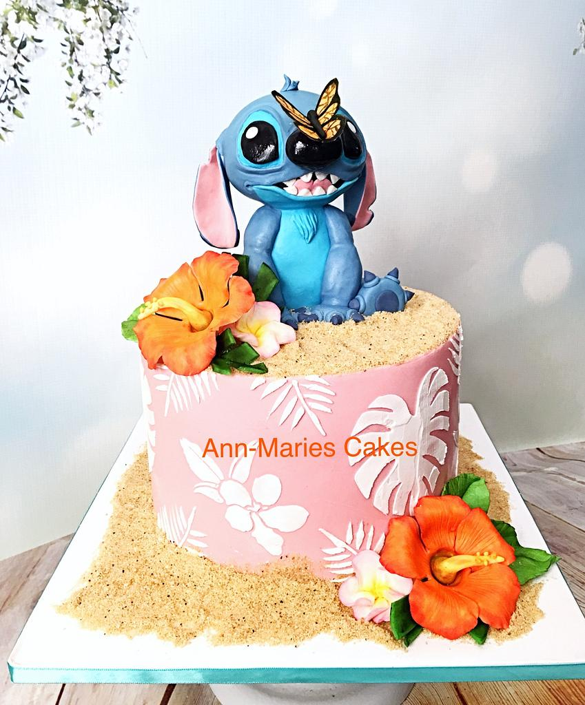 Stitch Birthday Cake by Ann-Marie Youngblood