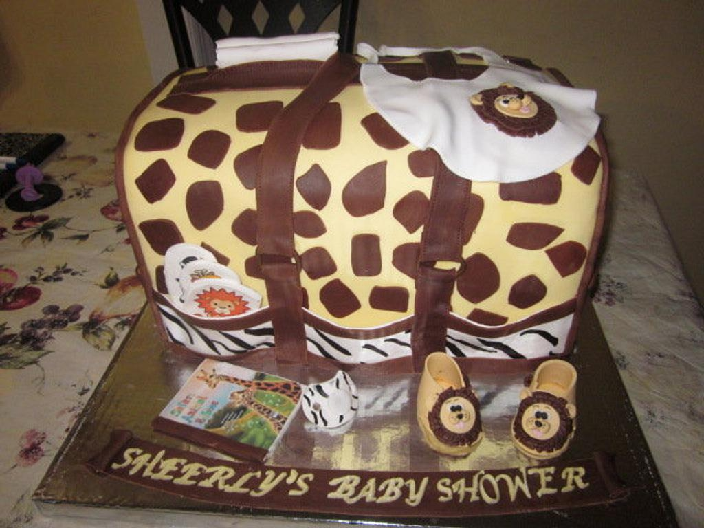 Jungle Theme Diaper Bag  by Paulina