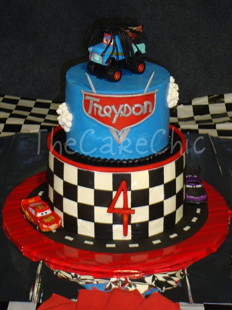 Disney Cars Cake by Misty