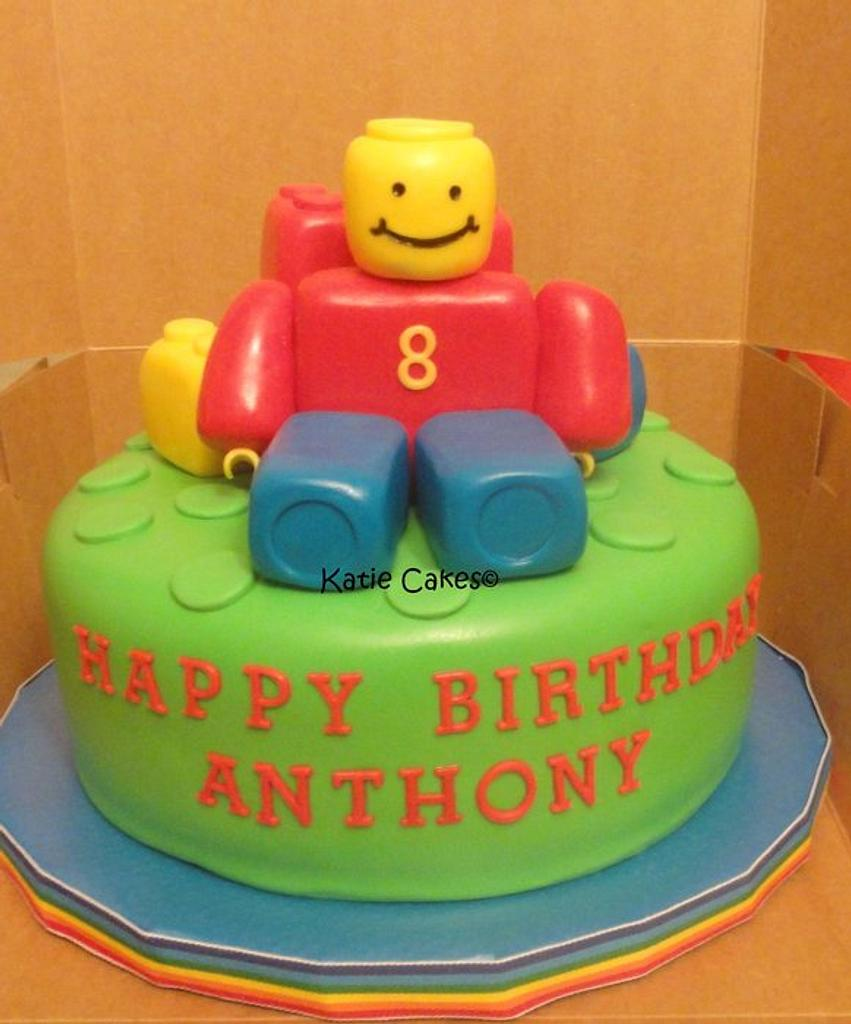 Lego Cake by Katie Cortes