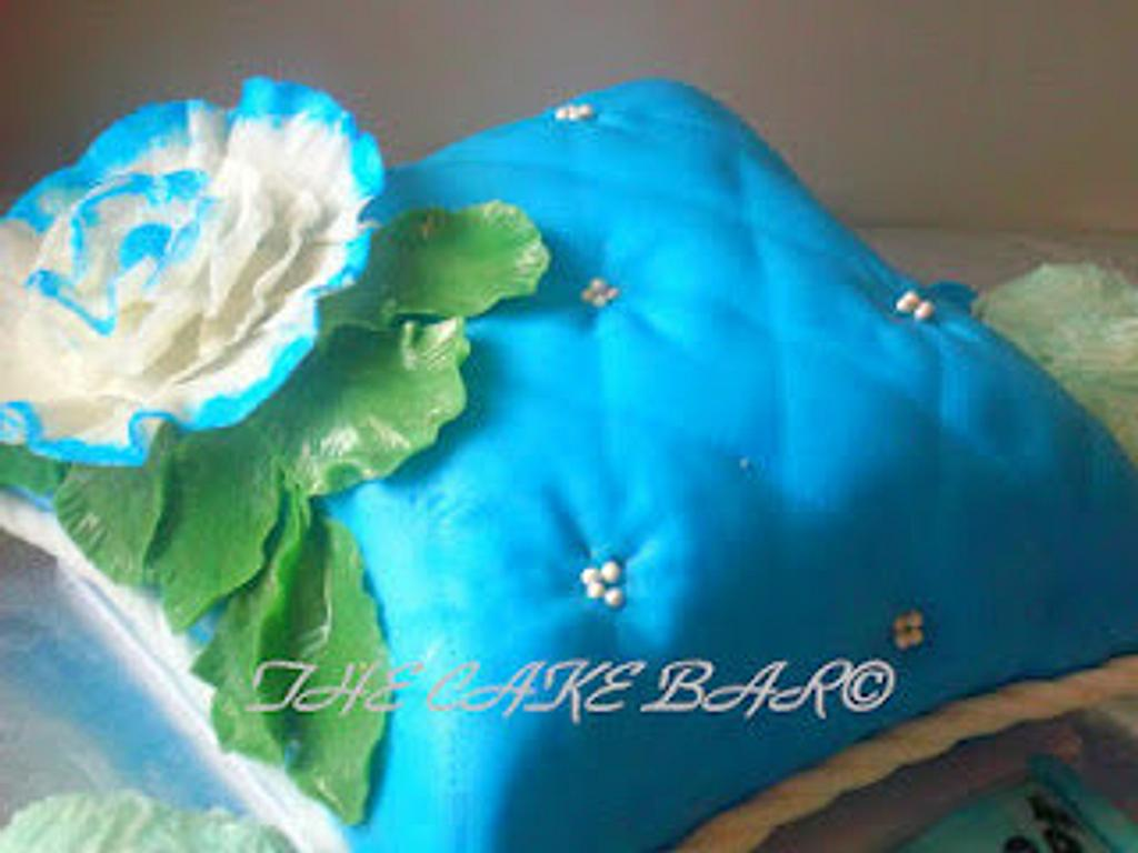 Pillow Cake  by TheCakeBar
