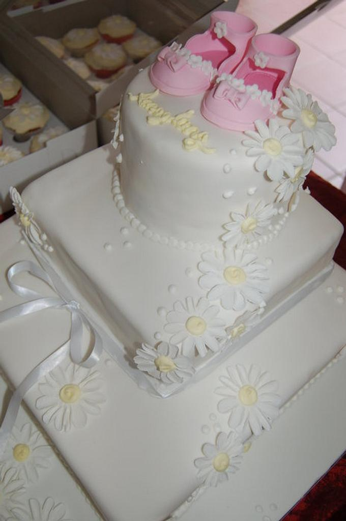 Christening Cake by Wicked Creations
