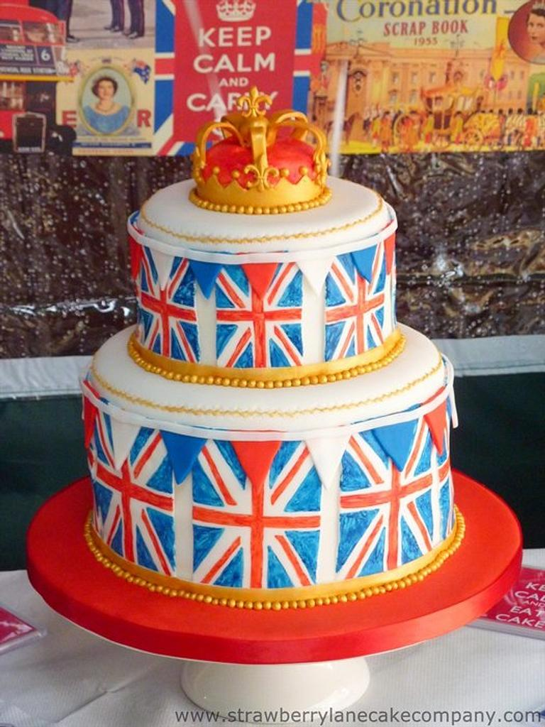 Emma Bridgewater inspired cake by Strawberry Lane Cake Company