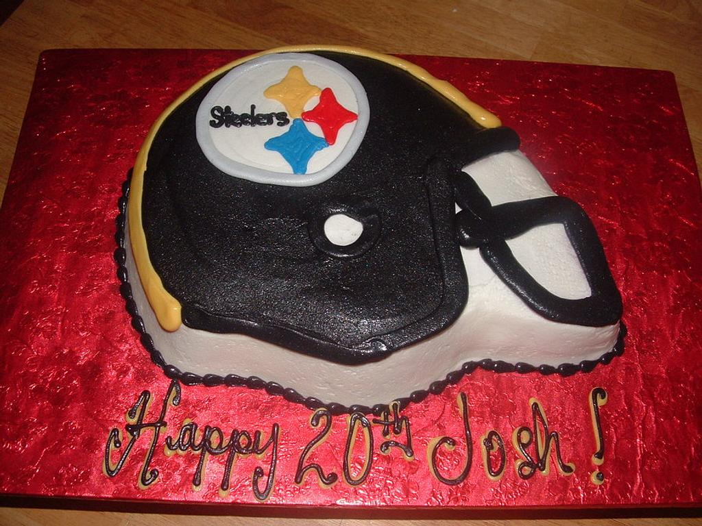 Steelers Helmet by Jennifer C.