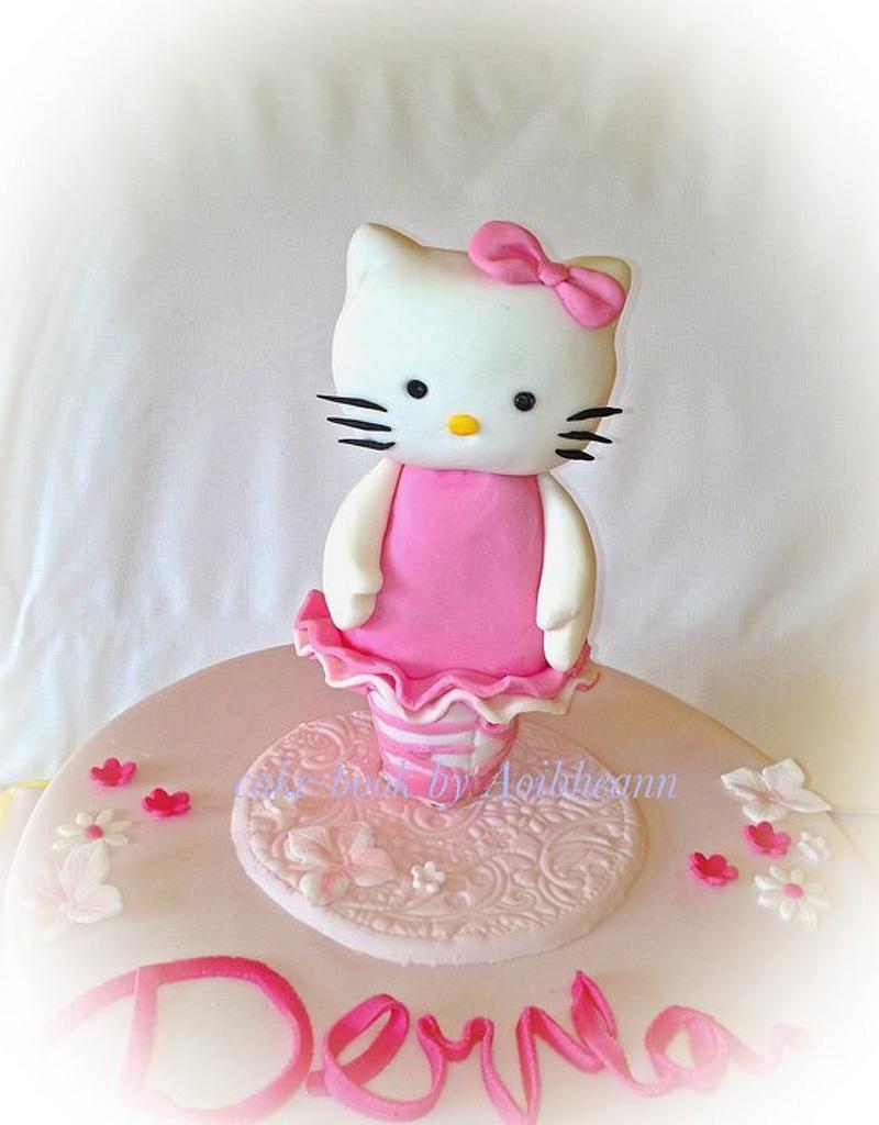 hello kitty ballerina by Aoibheann Sims