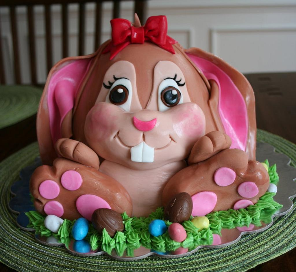 Who says the Easter Bunny is a boy???..... by Kim