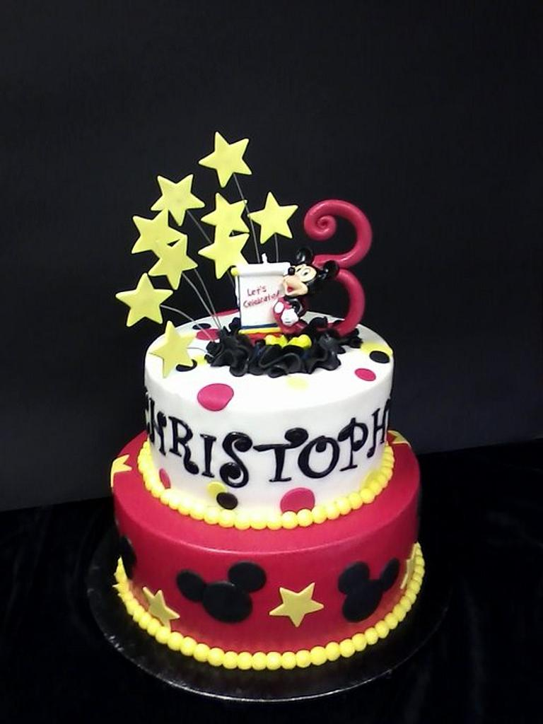 Mickey For Christopher by Cheryl's Creative Cakery