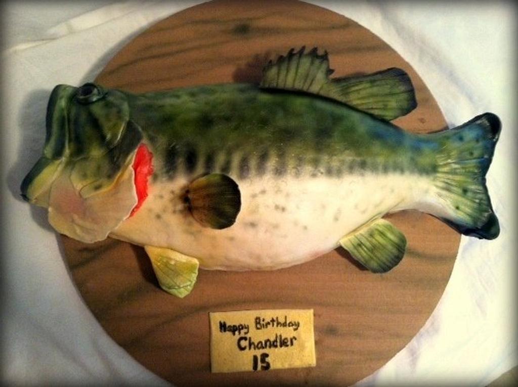 Big Mouth Bass Cake by Angel Rushing