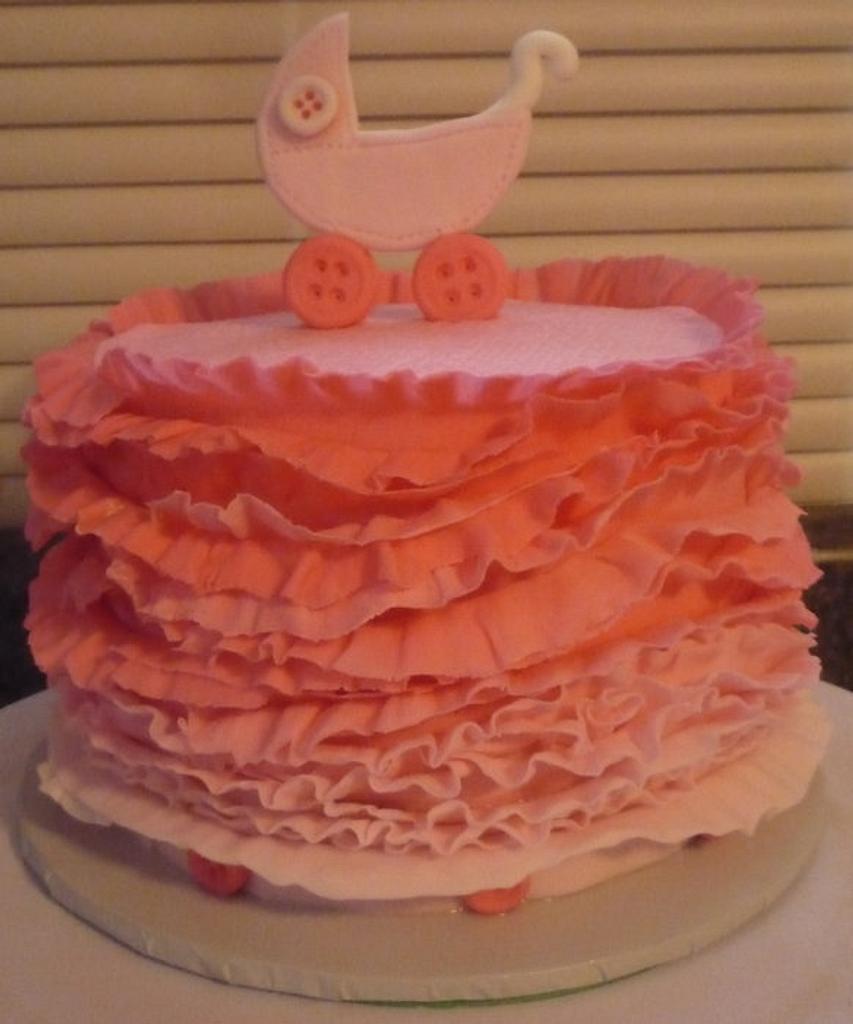 Pink ruffles by Natali