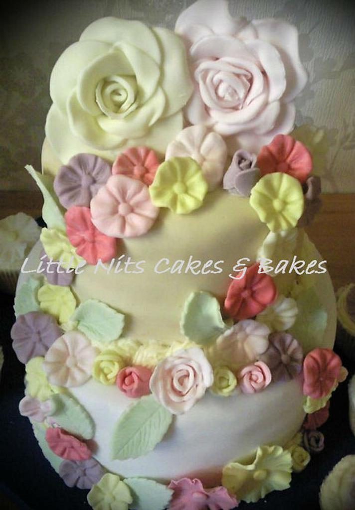 2 Tier Cake by Anita's Cakes & Bakes
