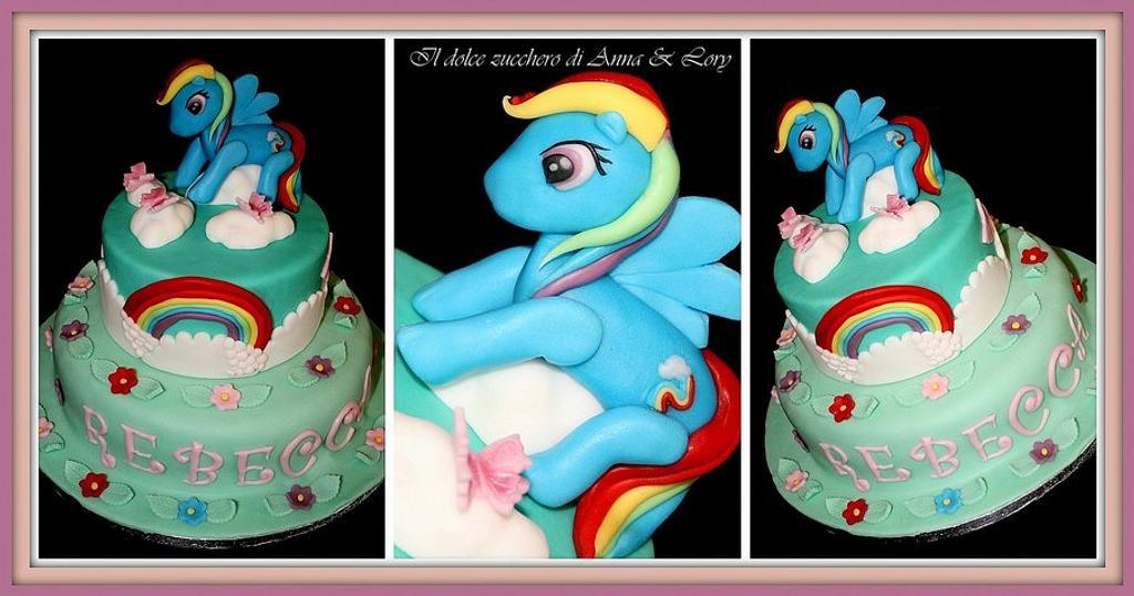 Rebecca's birthday by Il dolce zucchero di Anna & Lory