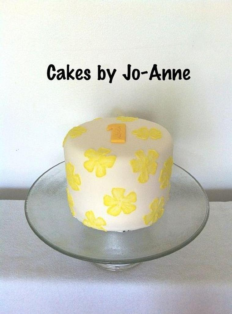 Yellow by Cakes by Jo-Anne