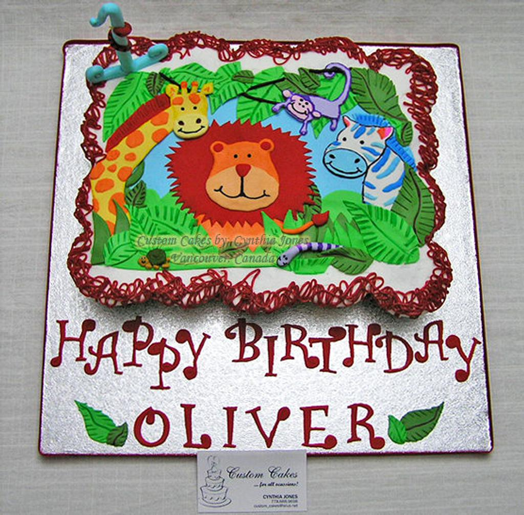 Cupcakes for Oliver! by Cynthia Jones