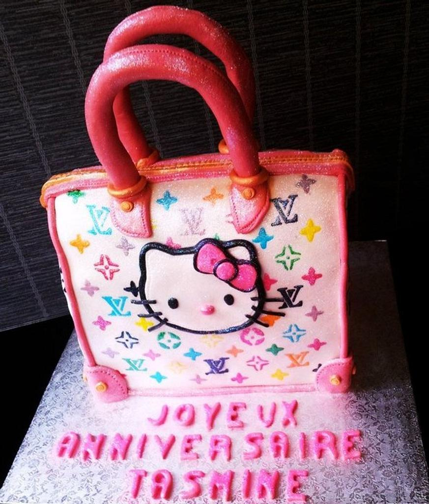 Purse Vuitton kitty by Angelica