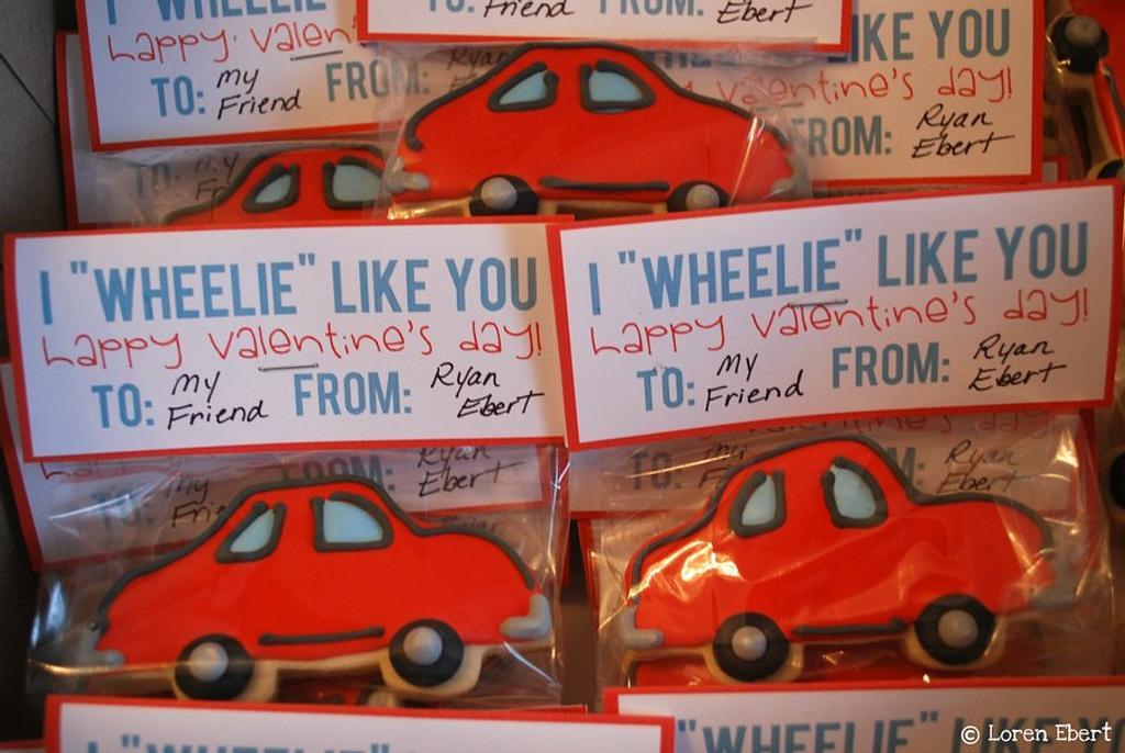 Valentine's Day Cookies! by Loren Ebert