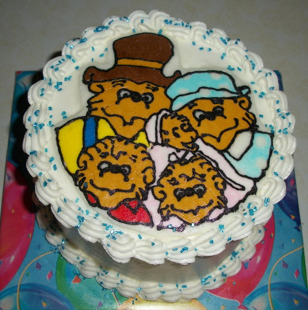 Berenstain Bears by Tracy's Custom Cakery LLC