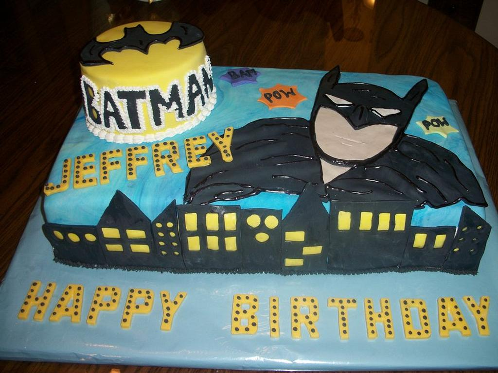 Batman cake Enchanted Cakes on FB by Sher