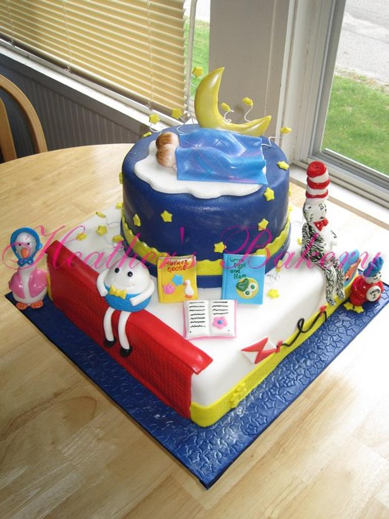 Storybook Theme Cake by HeathersBakery