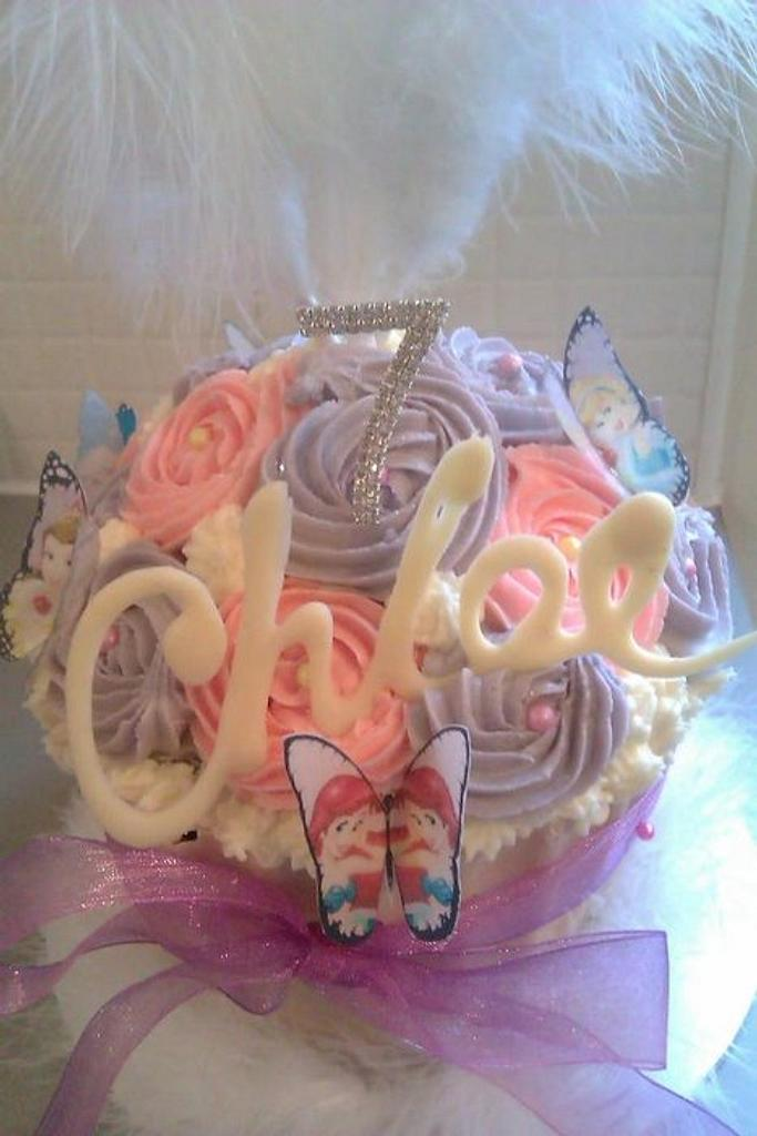 A little Girl Giant Cupcake by Ashdan