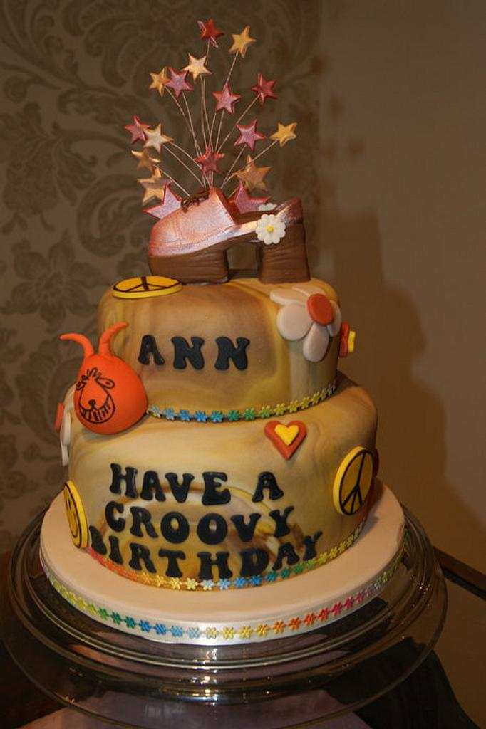 Seventies Cake! by Nina Stokes