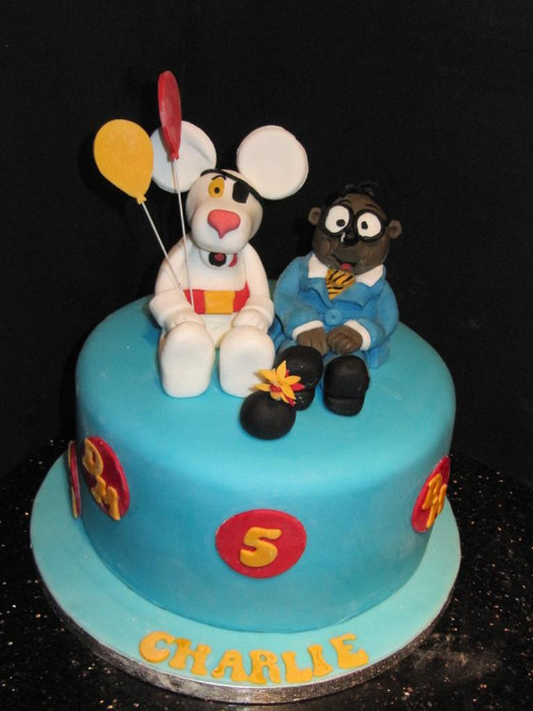 dangermouse by d and k creative cakes