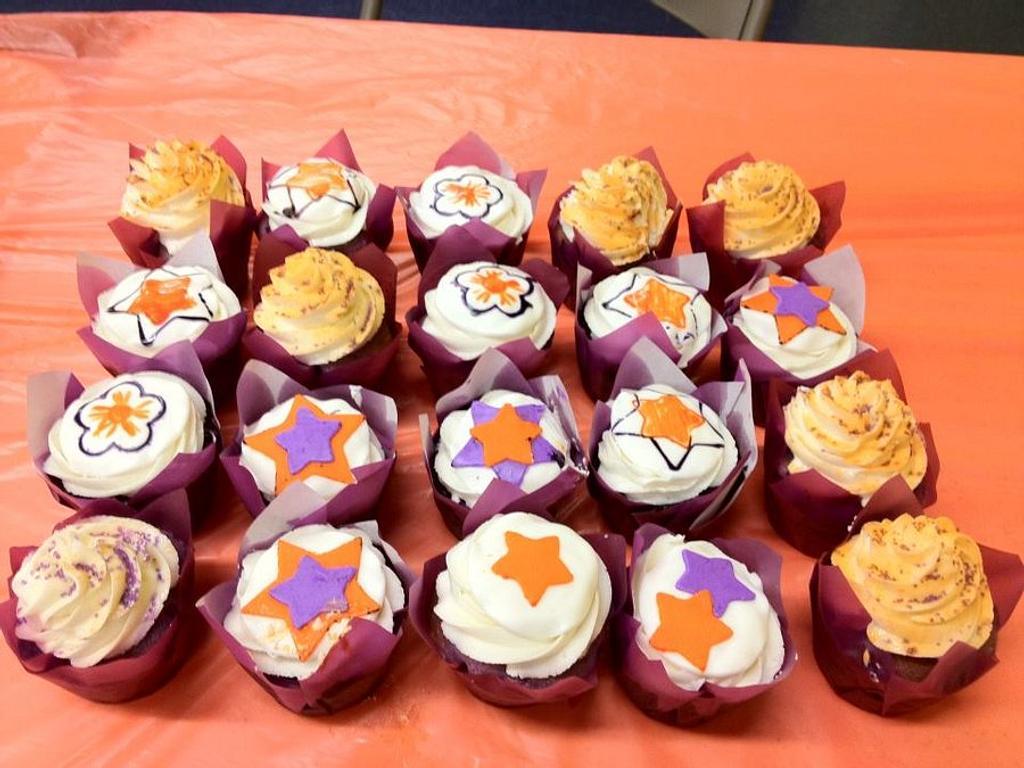 Skating Cupcakes by Dawn Henderson