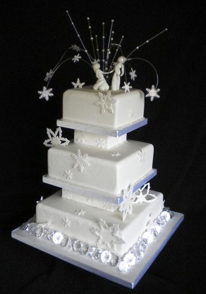 Snowflakes and sugar dancers by Fiona Williamson