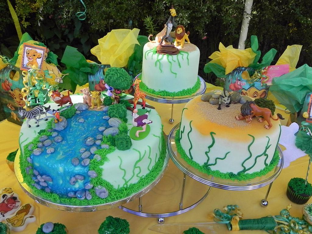 Lion King Theme Cake by Karen