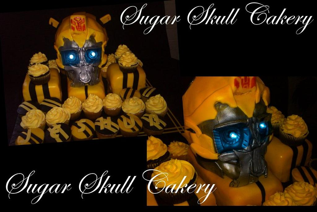 Transformer Cake (Bumblebee) by Shey Jimenez
