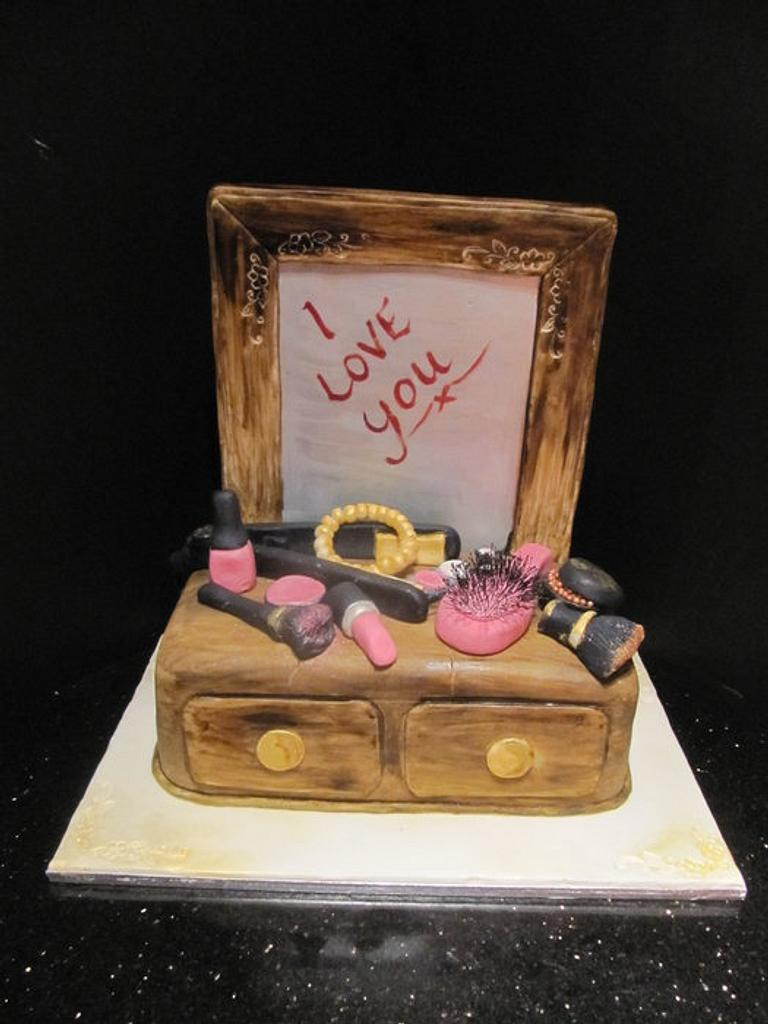dressing table cake by d and k creative cakes