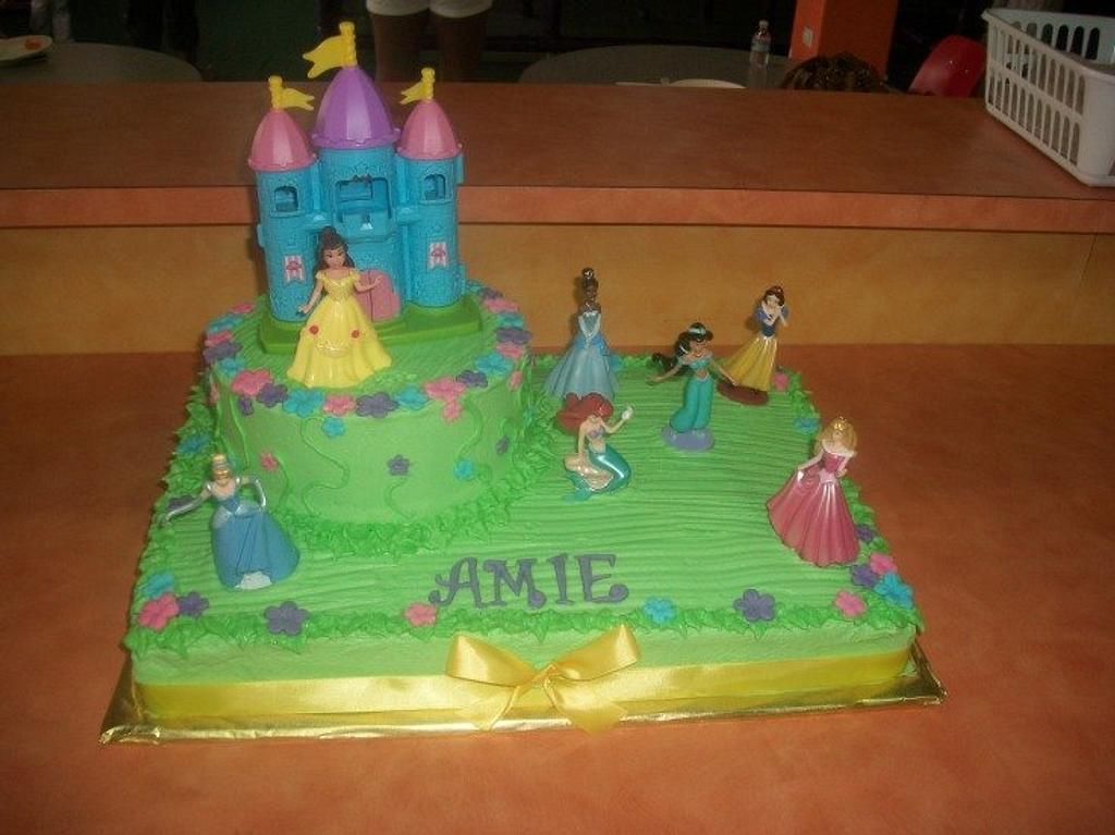 Disney Princess Birthday Cake by caymancake