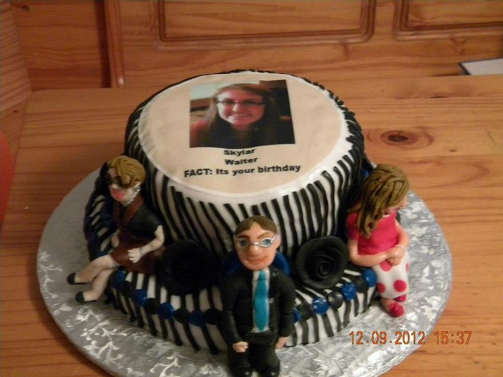 """The """"Office"""" personalized cake by sweeties"""