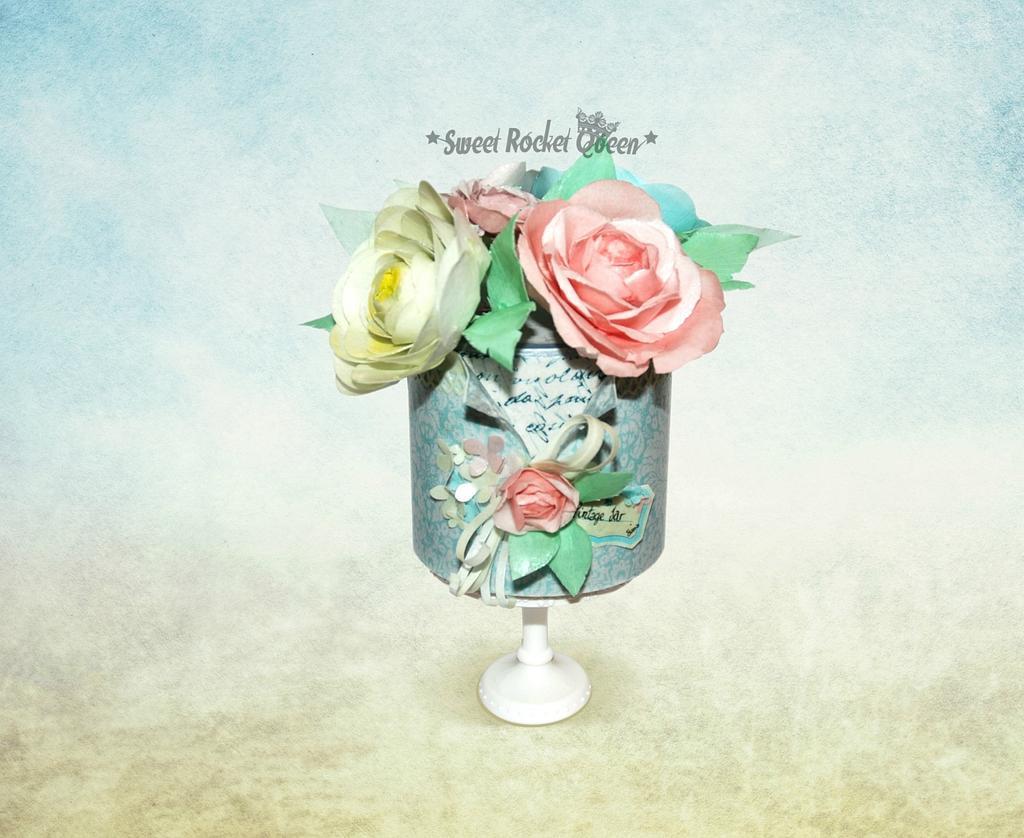 Vintage Jar by Sweet Rocket Queen (Simona Stabile)