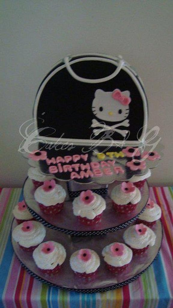 Hello Kitty Purse Cake by Laura Barajas