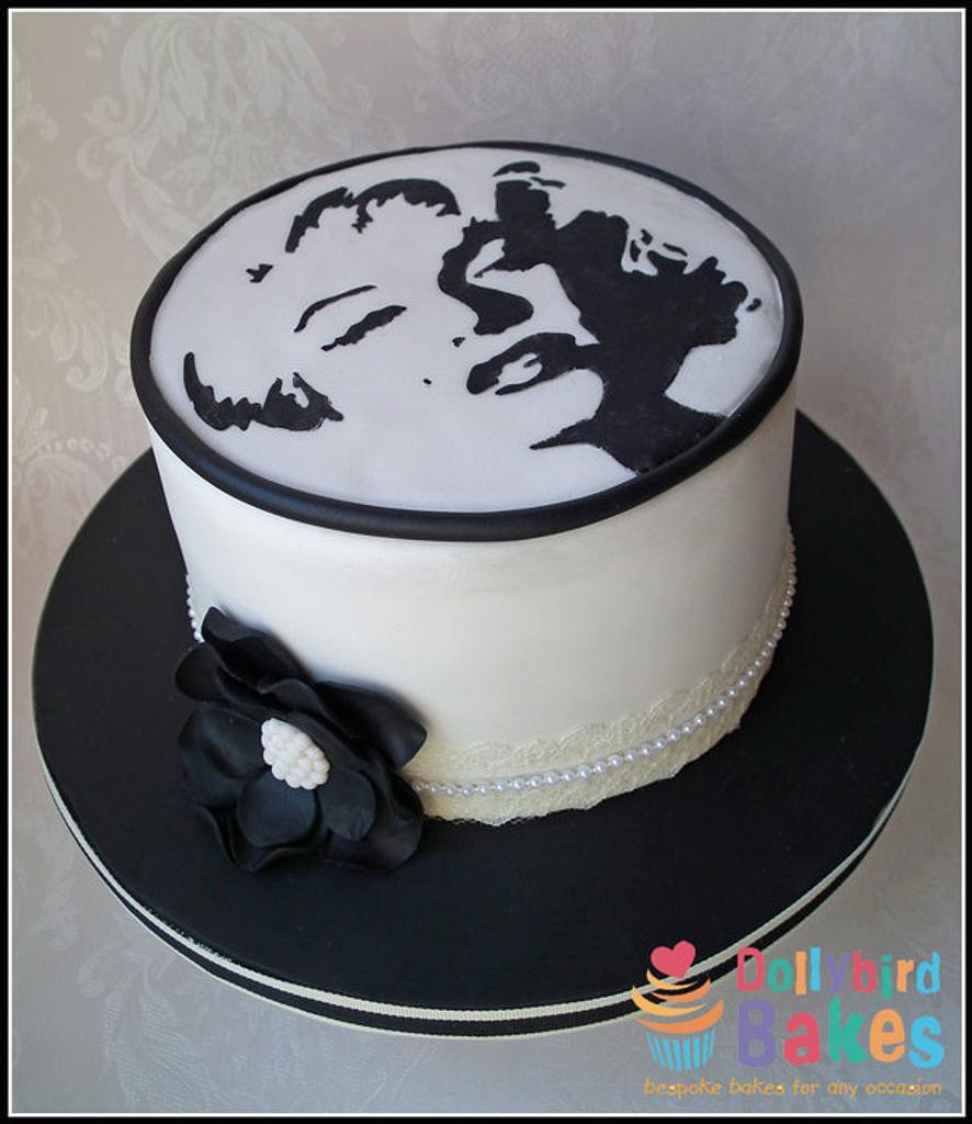 Marilyn Monroe Cake by Dollybird Bakes