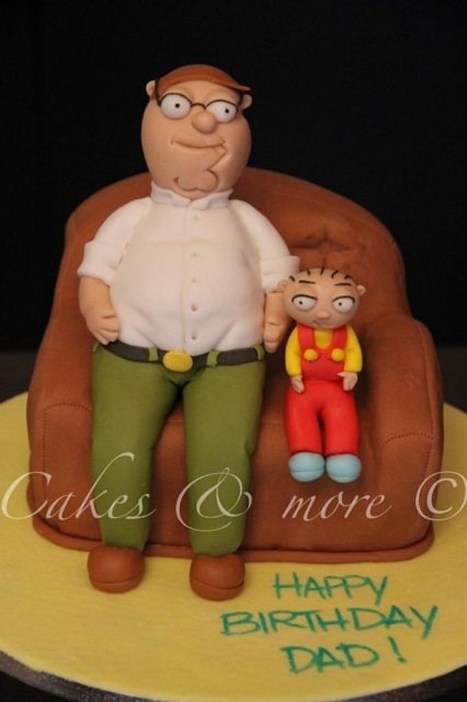 Family Guy cake by Elli & Mary
