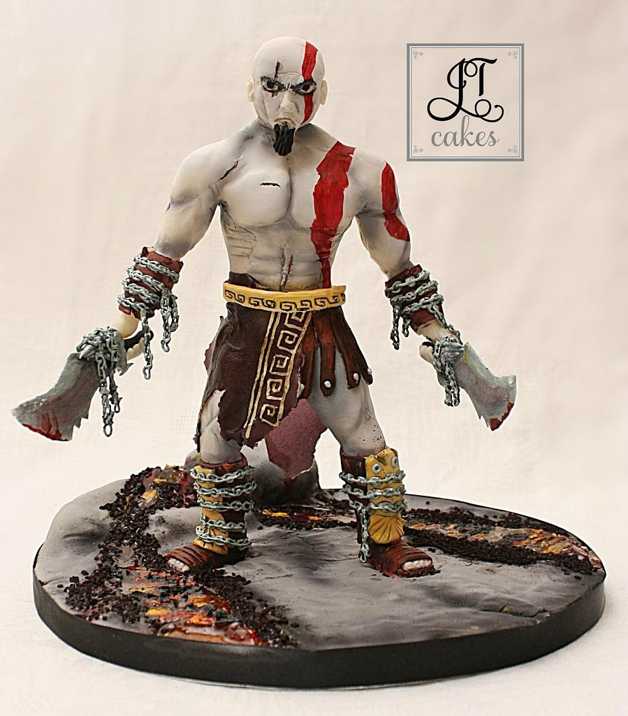 Kratos - God of War  by JT Cakes