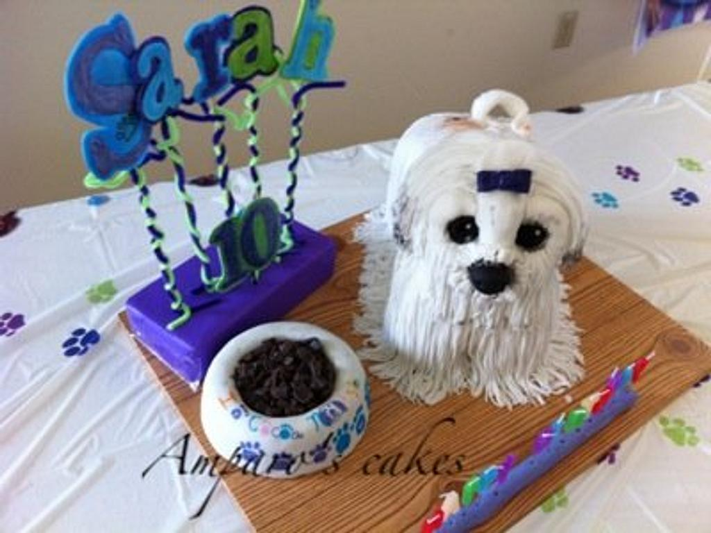 Dog Cake by amparoedith