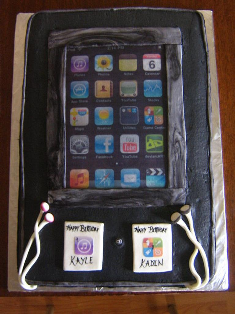 Ipod cake by CC's Creative Cakes and more...
