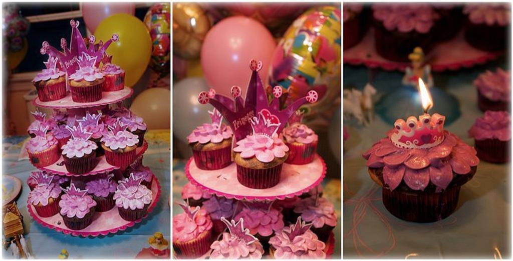 Princess Cupcakes by Karen
