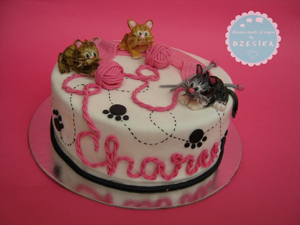 CAT'S CAKE by Dzesikine figurice i torte