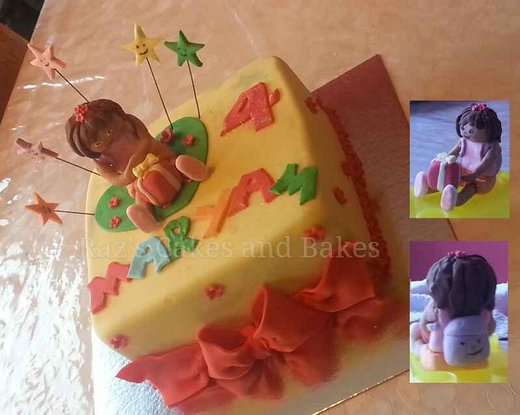 Dora the Explorer Cake by RazsCakes