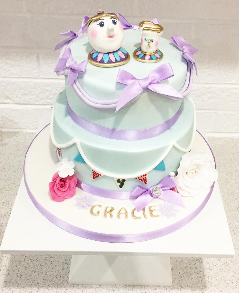Mrs Potts  by Kayleigh's cake boutique